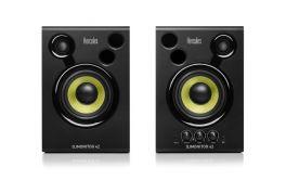"""HERCULES DJ MONITOR 42 COPPIA MONITOR DA STUDIO ATTIVI 40W 4"""" 2 VIE"""