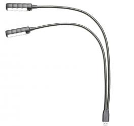 ADAM HALL SLED2-ULTRA USB LAMPADA COLLO DI CIGNO A LED COLLEGAMENTO USB