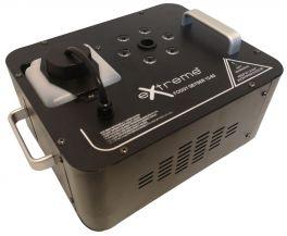 EXTREME FOGGY GEYSER 12-63 MACCHINA DEL FUMO 1200 WATT 6 LED RGB 3 WATT GETTO VERTICALE TIPO CO2 CONTROLLO REMOTO E DMX GITTATA 5 METRI