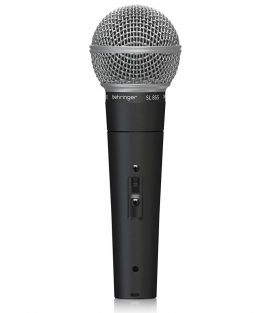 BEHRINGER SL85S MICROFONO DINAMICO CARDIOIDE SWITCH ON-OFF + CASE PER VOCE E HOME RECORDING
