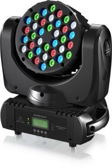 BEHRINGER TESTA MOBILE MH363 36 LED CREE RGBW DA 3 WATT DMX SOUND STROBO