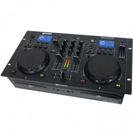 GEMINI CDM4000 BT CONTROLLER LETTORE MULTIMEDIALE CD USB MP3 BLUETOOTH PER DJ