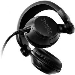 TECHNICS EAH-DJ1200 CUFFIA PER DJ PADIGLIONE 40MM PIEGHEVOLI CAVO RIMOVIBILE NERA BRACCIO 270 GRADI