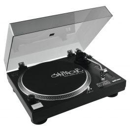 OMNITRONIC DD-2520 USB BLACK GIRADISCHI PER DJ TRAZIONE DIRETTA NERO