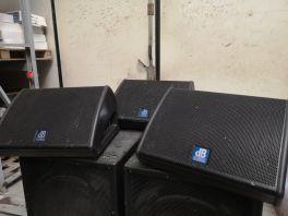 DB TECHNOLOGIES FLEXSYS FM12 CASSA ATTIVA 600W SPIA MONITOR DA PALCO USATO