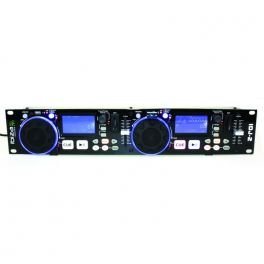 IBIZA SOUND IDJ2 DOPPIO MEDIA PLAYER USB - SD CON SCRATCH CONTROLLER