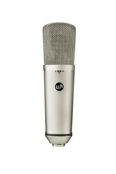WARM AUDIO WA-87 R2 MICROFONO A CONDENSATRE DA STUDIO A DIAFRAMMA LARGO