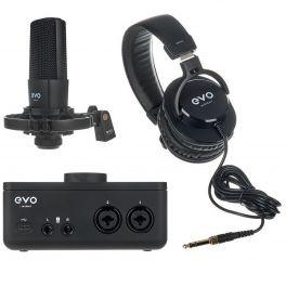 AUDIENT EVO4 START RECORDING BUNDLE INTERFACCIA AUDIO MICROFONO SR1 CUFFIE SR2000