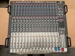 CREST AUDIO X18R MIXER RACK 18 CANALI CON FADER 100MM + EQ 4 BANDE USATO