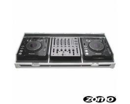 ZOMO SET-1000 FLIGHT CASE PER 2 PIONEER CDJ-2000 E 1 PIONEER DJM-600