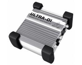 BEHRINGER DI100 DIRECT BOX ULTRA DI BOX ATTIVA A BATTERIA O ALIMENTAZIONE PHANTOM POWER +48 VOLT