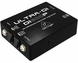 BEHRINGER DI600P ULTRA-DI DI-BOX PASSIVA IN/OUT PARALLELO FLAT/FILTRO STRUMENTO/AMPLIFICATORE XLR OUT CON GROUND/LIFT