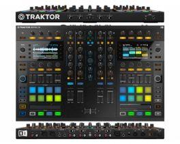 NATIVE INSTRUMENTS TRAKTOR KONTROL S8 CONTROLLER DJ MIDI 4 CANALI + SCHEDA AUDIO 24 BIT 96KHZ STEMS READY