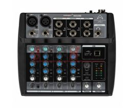 WHARFEDALE CONNECT 802USB MIXER 6 CANALI + USB BLACK