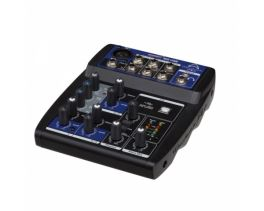 WHARFEDALE CONNECT 502USB MIXER 5 CANALI + USB BLACK