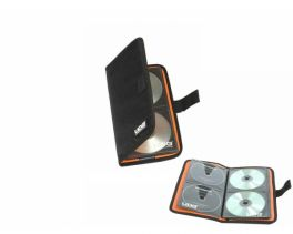 UDG U9980BL/OR ULTIMATE CD WALLET 24 DIGITAL BLACK/ORANGE CUSTODIA PER 24 CD