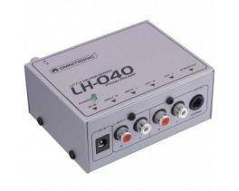 OMNITRONIC LH-040 PREAMPLIFICATORE PHONO