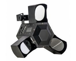 SAGITTER TRISCAN SCANNER 12 LED X 3 WATT RGBW DMX 3/4 CANALI