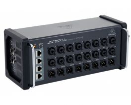 BEHRINGER SD16 DIGITAL SNAKE STAGEBOX 16 PREAMPLIFICATORI MICROFONICI MIDAS 8 USCITE AUX KLARK TEKNIK AES50 CONTROLLO REMOTO