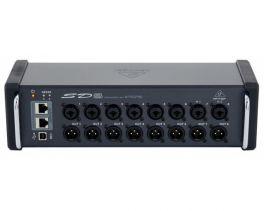 BEHRINGER SD8 SNAKE DIGITALE USB 8 PREAMPLIFICATORI MICROFONICI MIDAS 8 AUX AES50 KLARK TEKNIK CONTROLLO REMOTO