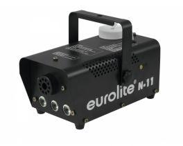 EUROLITE N-11 MACCHINA FUMO + 3 LEDS AMBRA DA 1 WATT LED HYBRID AMBER