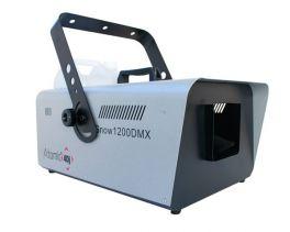 ATOMIC SNOW1200DMX MACCHINA DELLA NEVE 1200 WATT DMX RADIOCOMANDO WIRELESS E CAVO 83026