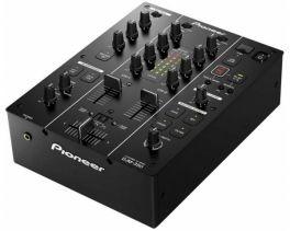 PIONEER DJM350 MIXER DJ 2 CANALI E MICROFONO EQ3 BANDE EFFETTI USB REC TRACK MARK