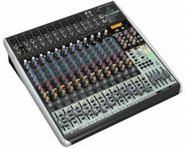 BEHRINGER XENYX QX2442USB MIXER 24 INGRESSI 8 COMPRESSORI EFFETTI KLARK TEKNIK WIRELESS READY INTERFACCIA AUDIO USB SOFTWARE