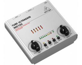 BEHRINGER MIC100 TUBE ULTRAGAIN PREAMPLIFICATORE MICROFONICO VALVOLARE LIMITER