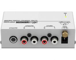 BEHRINGER PP400 MICROPHONO PREAMPLIFICATORE PER GIRADISCHI RIAA PHONO PRE