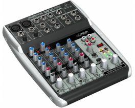 BEHRINGER XENYX Q802-USB MIXER 8 INGRESSI +48V + INTERFACCIA AUDIO USB + SOFTWARE GRATUITO