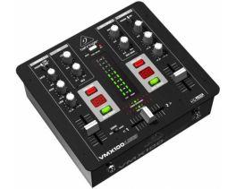 BEHRINGER VMX100USB PRO MIXER DJ 2 CANALI CON CONTABATTUTE + INGRESSO MICROFONO + INTERFACCIA AUDIO USB + SOFTWARE GRATUITO