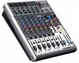 BEHRINGER XENYX X1204USB MIXER USB CON EFFETTI 4 INGRESSI MICROFONICI 2 STEREO + INTERFACCIA AUDIO USB