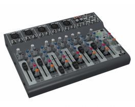 BEHRINGER XENYX-1002B MIXER AUDIO PASSIVO 12 CANALI PHANTOM POWER +48V ANCHE A BATTERIE
