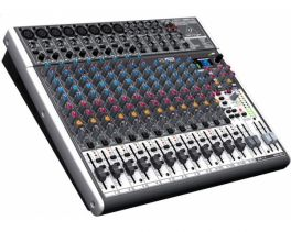 BEHRINGER XENYX X2222USB MIXER PASSIVO 22 INGRESSI CON EFFETTI 24 BIT 8 COMPRESSORI + INTERFACCIA AUDIO USB