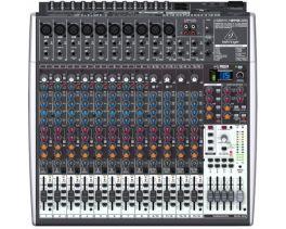 BEHRINGER XENYX X2442-USB MIXER PASSIVO 24 INGRESSI EFFETTI 24 BIT 8 COMPRESSORI 4 AUX 4 SUB + INTERFACCIA AUDIO USB