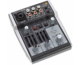 BEHRINGER XENYX 302USB MIXER PASSIVO 5 INGRESSI + INTERFACCIA AUDIO USB + SOFTWARE TRACKTION