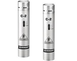 BEHRINGER C2 COPPIA SELEZIONATA MATCHED MICROFONI CONDENSATORE VOCE STRUMENTI + STEREO-BAR CON CLAMPS