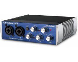 PRESONUS AUDIOBOX USB INTERFACCIA AUDIO BOX 2X2 2 INGRESSI MICROFONICI