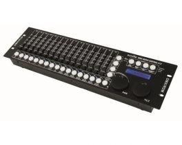 EUROLITE DMX MOVE CONTROL 512 MIXER LUCI 512 CANALI DMX 18 CONTROLLO 32 SCENE 16 FADER