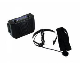 OMNITRONIC BHD-02 AMPLIFICATORE A CINTURA CON ALTOPARLANTE ATTIVO E MICROFONO HEADSET
