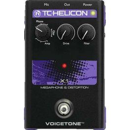 TC HELICON VOICETONE X1 PROCESSORE DI EFFETTI MEGAFONO E DISTORSIONE PER VOCE