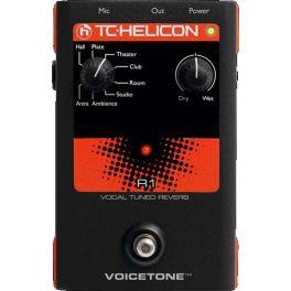 TC HELICON VOICETONE R1 EFFETTO RIVERBERO A PEDALE PER VOCE