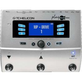 TC HELICON PLAY ELECTRIC PROCESSORE EFFETTI PER VOCE E CHITARRA ELETTRICA CON LOOPER