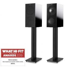 KEF R3 BLACK diffusori da scaffale High End 3 Vie Bass Reflex. Uni-Q