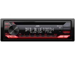 JVC KD-DB622BT autoradio 1 DIN con Bluetooth, sintonizzatore DAB, AUX e USB