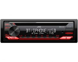 JVC KD-T812BT autoradio 1 din Amazon App Alexa / Bluetooth / USB / Spotify / FLAC
