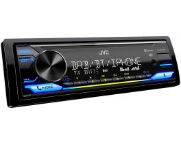 JVC KD-X472DBT autoradio digitale con Amazon Alexa / DAB + / USB / ingresso AUX / FLAC / EQ a 13 bande