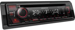 Kenwood KDC-BT450DAB autoradio CD / USB con Bluetooth e DAB + radio digitale
