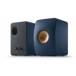 KEF LS50 Meta diffusori HiFi da scaffale Blu Reale (Special Edition) Uni-Q con MAT (COPPIA)